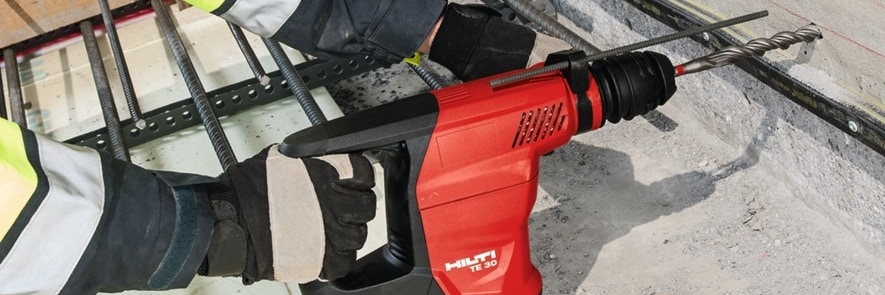 Hilti TE-CX drill bits for concrete drilling
