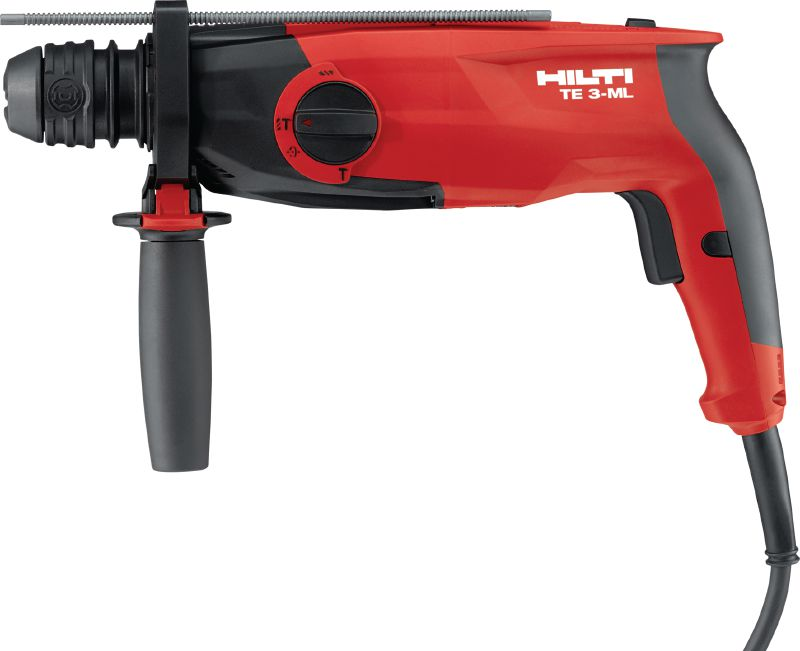 TE 3-ML Rotary hammer Powerful, triple-mode, corded SDS rotary hammer for hammer drilling, rotary-only drilling and chiseling – a multipurpose tool