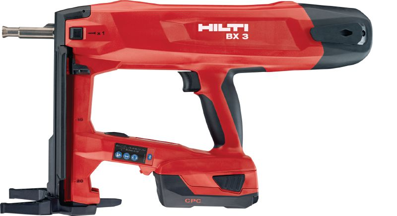 BX 3-ME 02 Cordless nailer 22V cordless nailer for electrical and mechanical applications