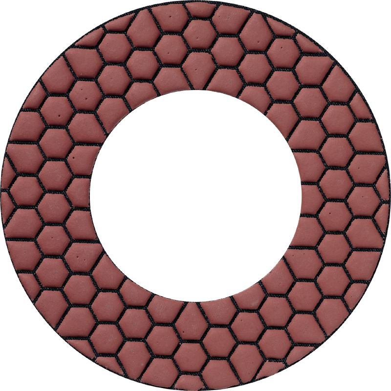 SPX finishing pad Ultimate diamond finishing pads for the DGH 130 diamond grinder – for concrete finishing without scratch marks