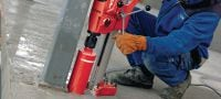 DD 120 Core drill Extremely compact, light and mobile diamond drilling tool for small to medium diameters Applications 1