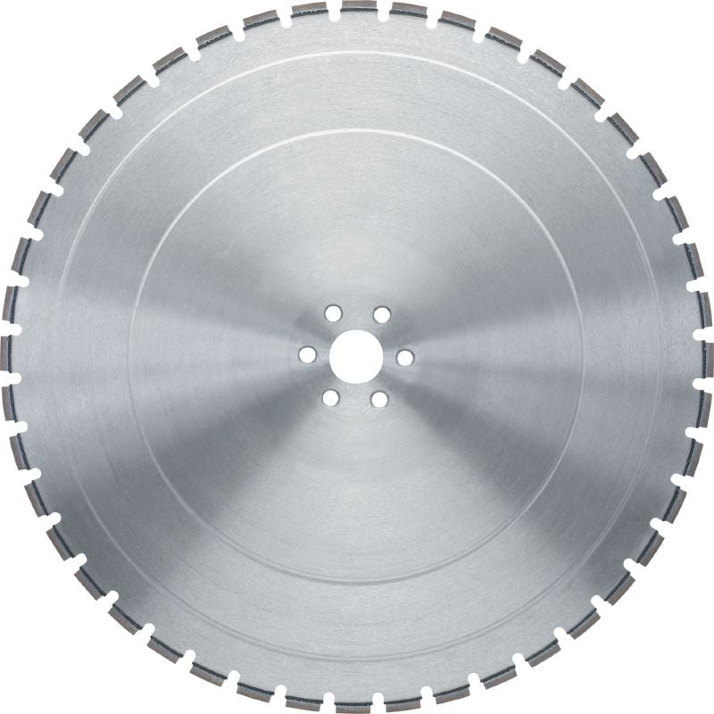 SP - 60H (fits on Hilti) Premium wall saw blade (15-20 kW) for balanced performance in reinforced concrete (60H arbor fits on Hilti wall saws)