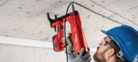 BX 3-ME 02 Cordless nailer 22V cordless nailer for electrical and mechanical applications Applications 2