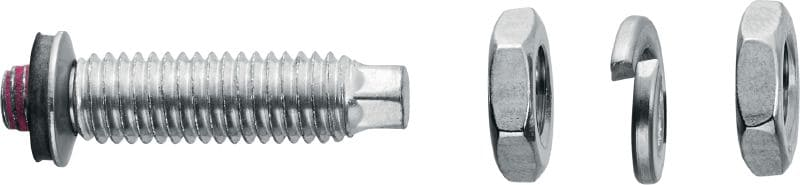 S-BT-ER Threaded screw-in stud (stainless steel, metric thread) for electrical connections on steel in highly corrosive environments