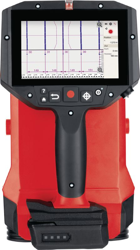 PS 300 Ferroscan Concrete detector for rebar localisation, depth measurement and size estimation in structural analysis